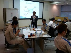 第一三共製薬におけるマインドマップ研修