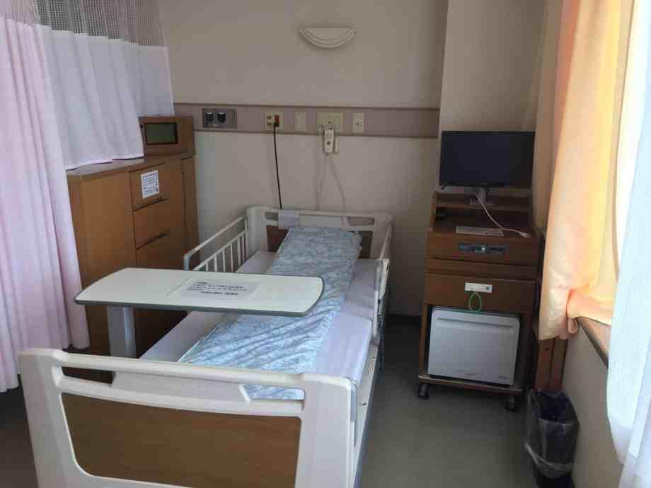 久我山病院産婦人科の病室