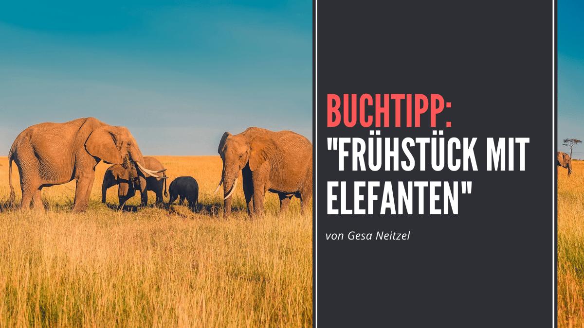 """""""Frühstück mit Elefanten"""" von Gesa Neitzel"""