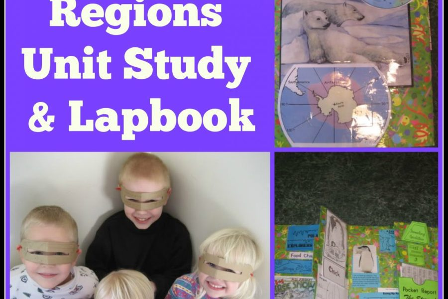 Polar Regions unit study and lapbook