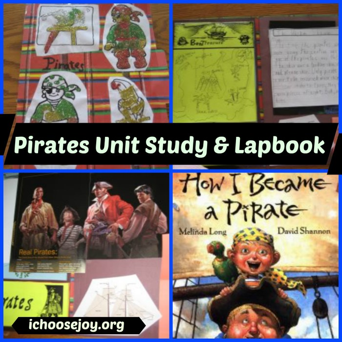 Piratest Unit Study & Lapbook