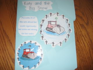 Katy and the Big Snow lapbook to do with the picture book