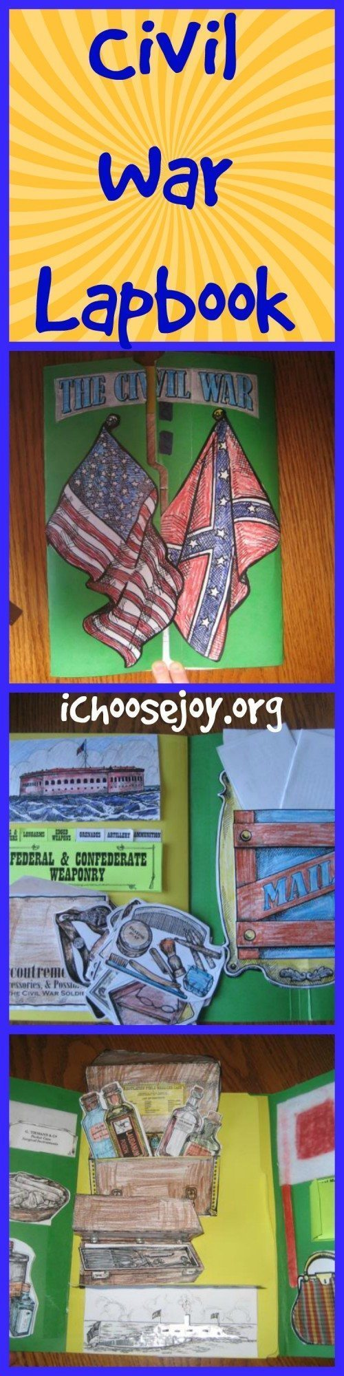 Civil War Lapbook