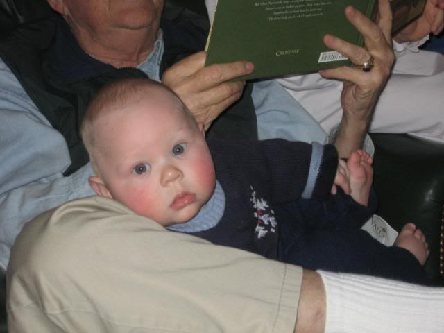 Read aloud with baby, homeschool read-aloud time