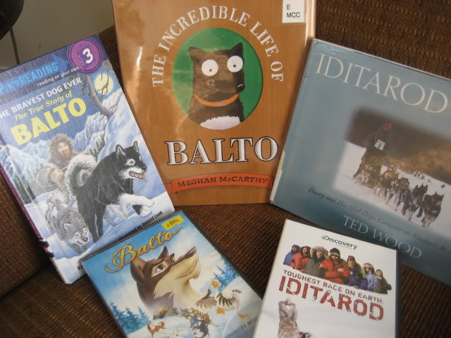 Alaska/ Sled Dog/ Iditarod Unit Study and Lapbook, see our resources and pictures, from I Choose Joy!