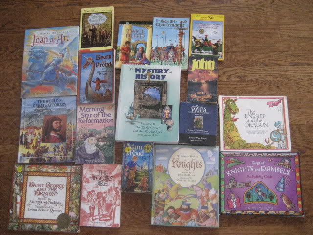 Historical Fiction for the Middle Ages, fun book to read aloud in our homeschool for history