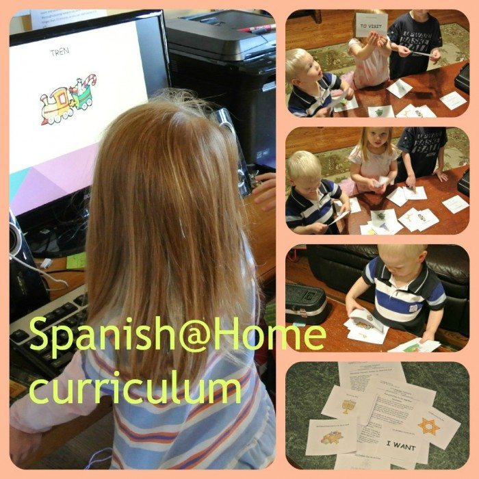 Spanish@Home collage 2