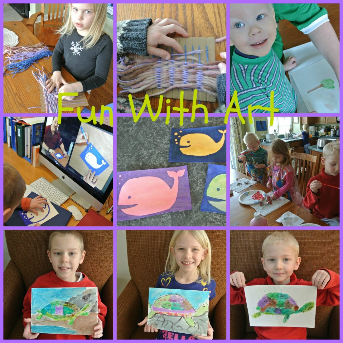 Collage/Journal Friday:  Fun With Art!