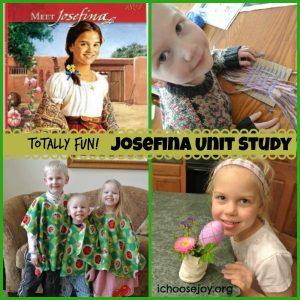 Josefina Unit Study from Girls of American History