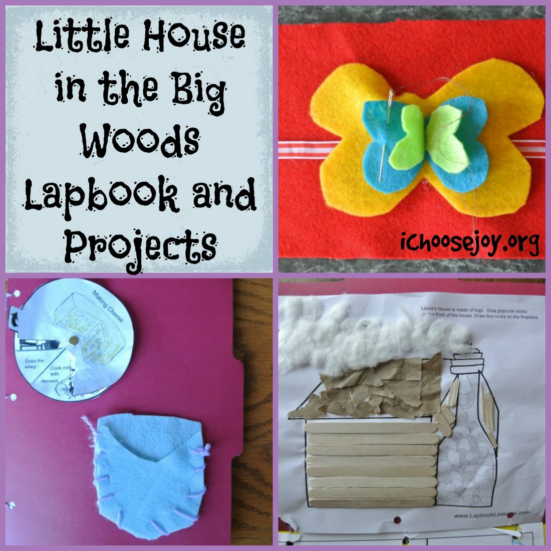 Projects From Our Little House In The Big Woods Unit Study