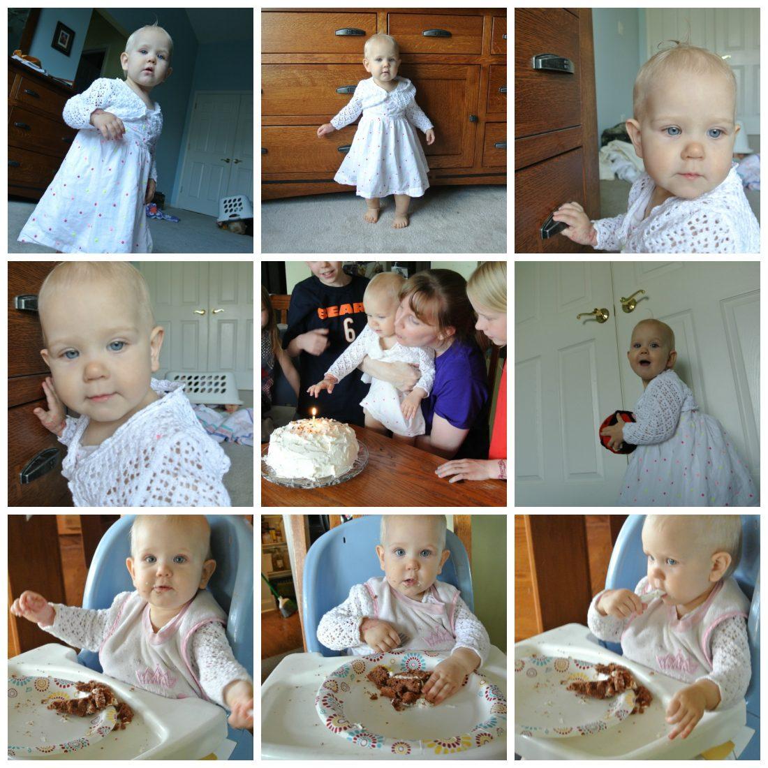 Collage Friday–1st Birthday!