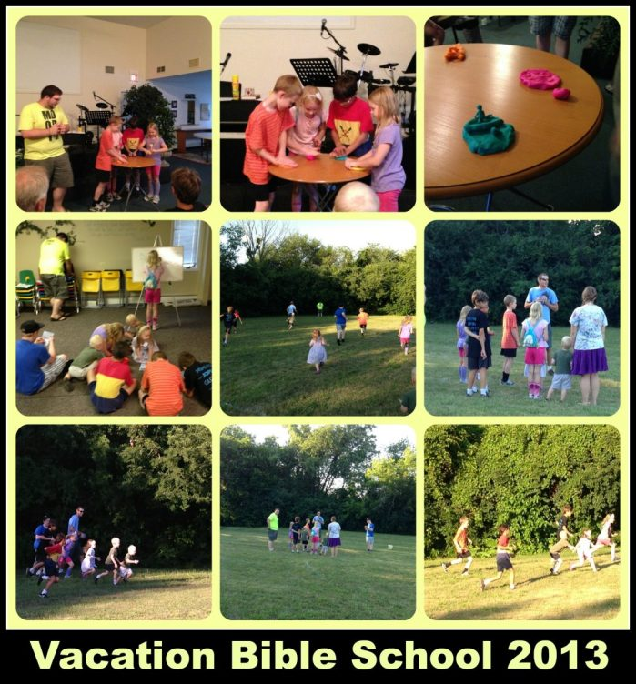 Collage Friday: Vacation Bible School