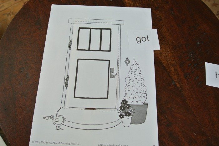 All About Reading activity sheets 003