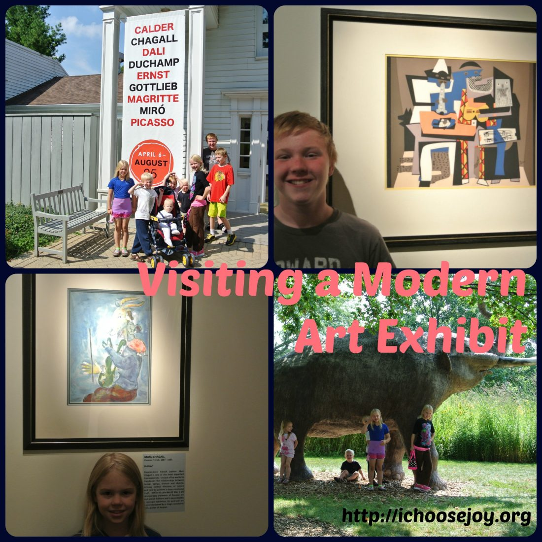From House to Home {Link Party}: Modern Art Exhibit