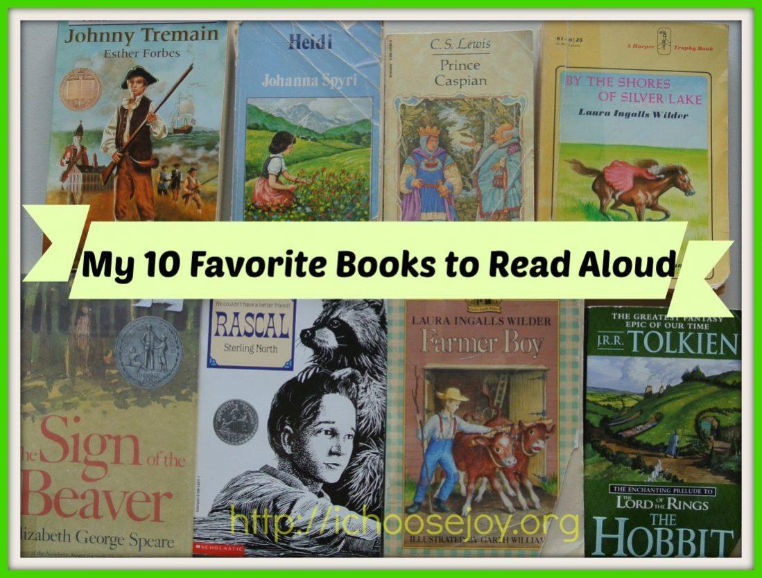 My Top Ten Favorite Books to Read Aloud
