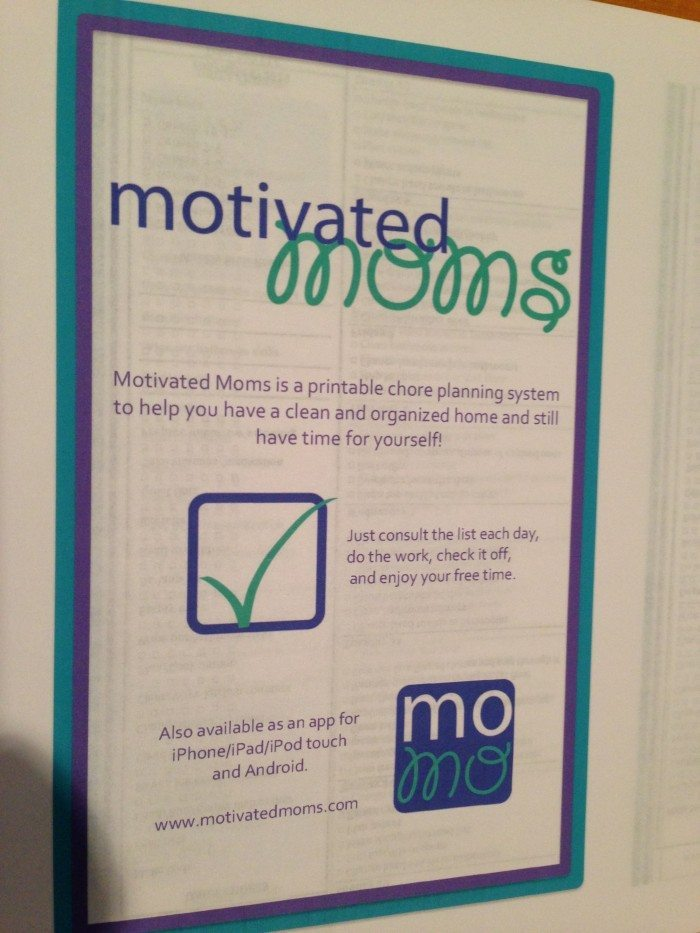 Motivated Moms planner 001