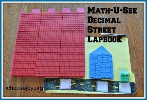 Math-U-See Decimal Street lapbook 003