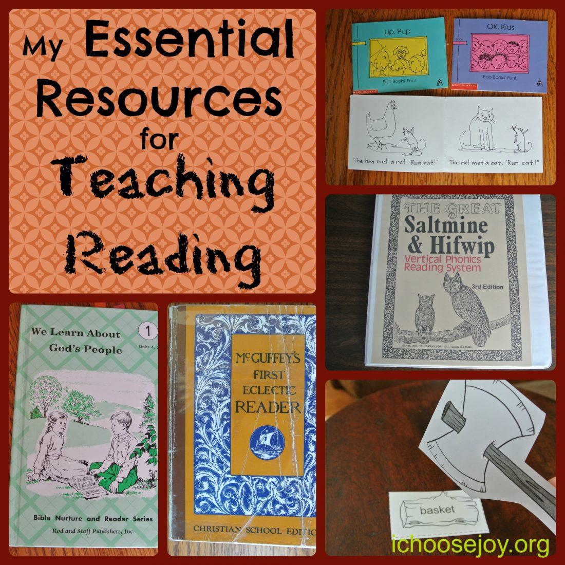 Homeschool Essentials for Teaching Reading