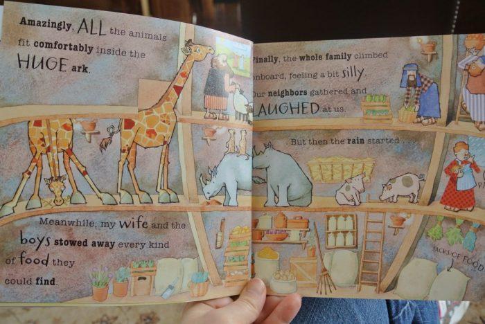 Book reviews- Daniel, Noah, Berenstain Bears Keep Faith, Veggie 009
