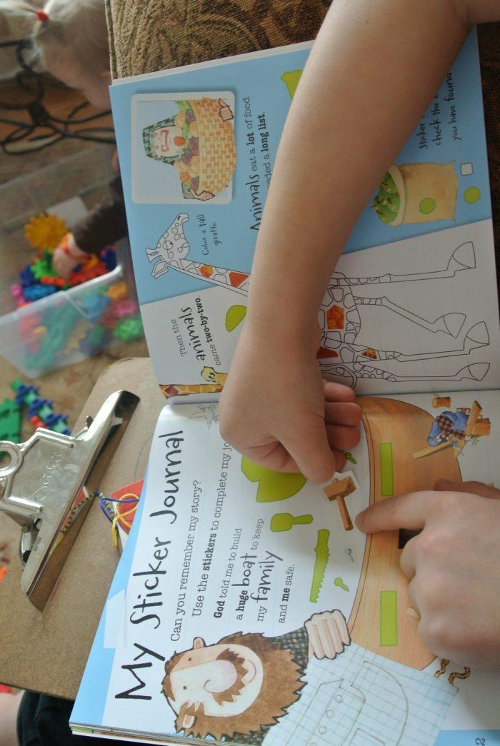 Book reviews- Daniel, Noah, Berenstain Bears Keep Faith, Veggie 013