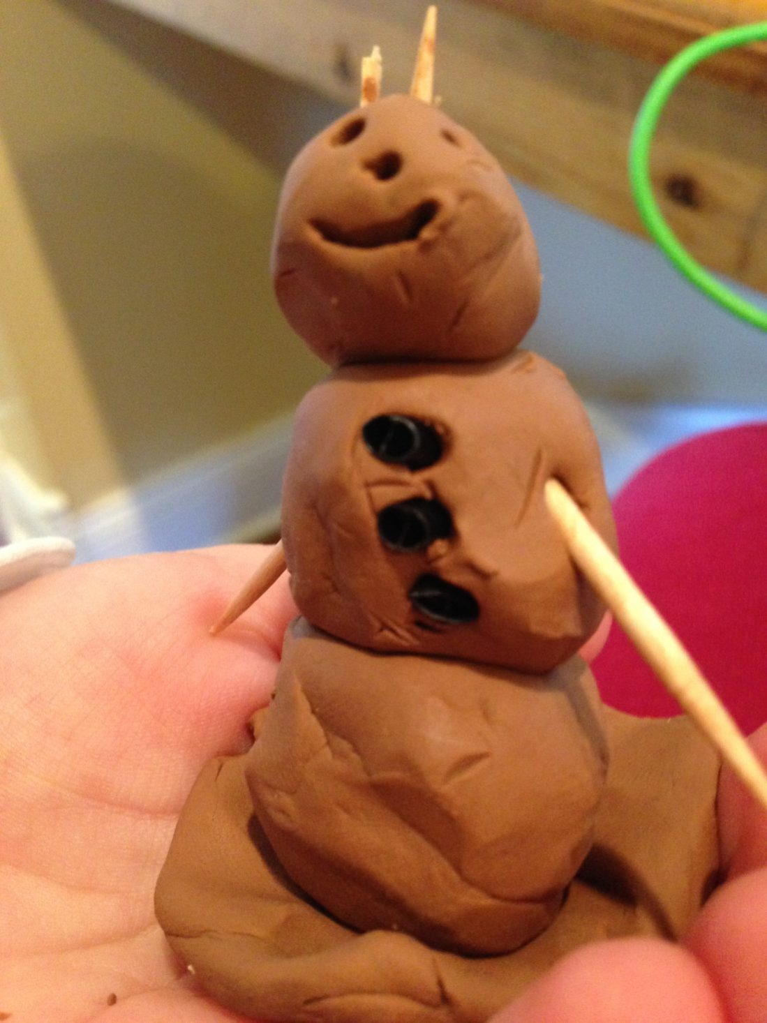 """""""Frozen"""" characters in clay & {Link Party}"""
