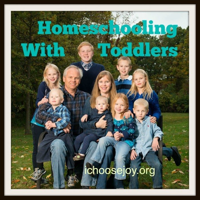 Homeschooling With Toddlers picture