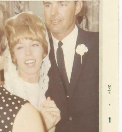 Gene & Judy Boswell Wedding crop