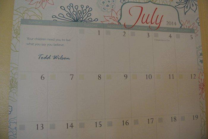 HEDUA Wall Calendar 002