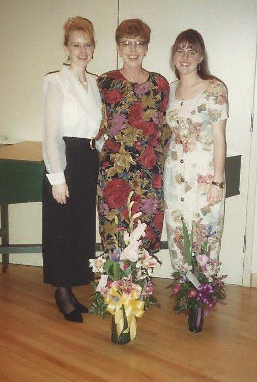 Senior Recital with Mom & Jill crop
