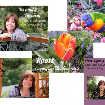 """Giveaway """"Encouragement for Homeschool Moms"""" collection by Diana Waring"""