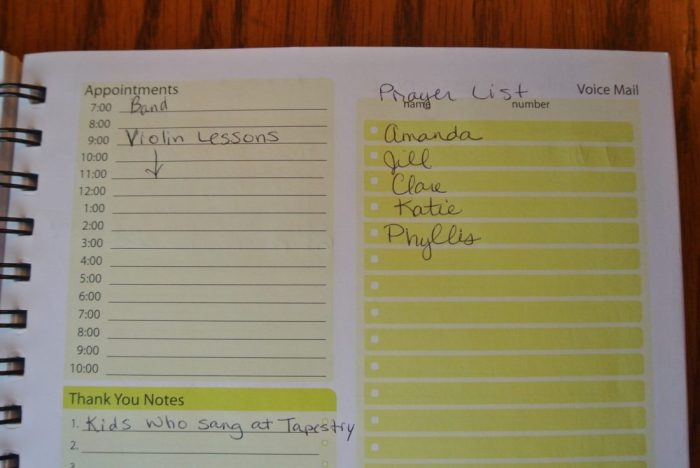 audition & 7 Minute Life Daily Planner 037