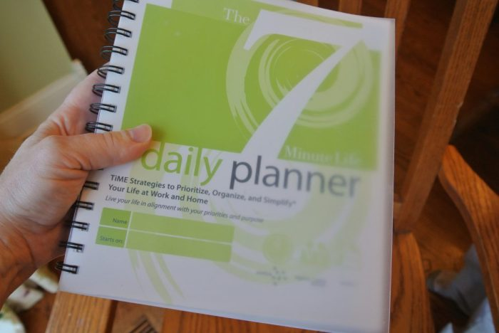 audition & 7 Minute Life Daily Planner 047