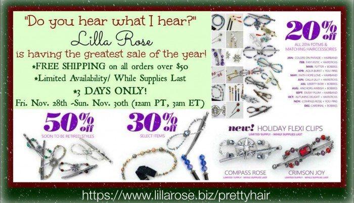 Lilla Rose sale 2