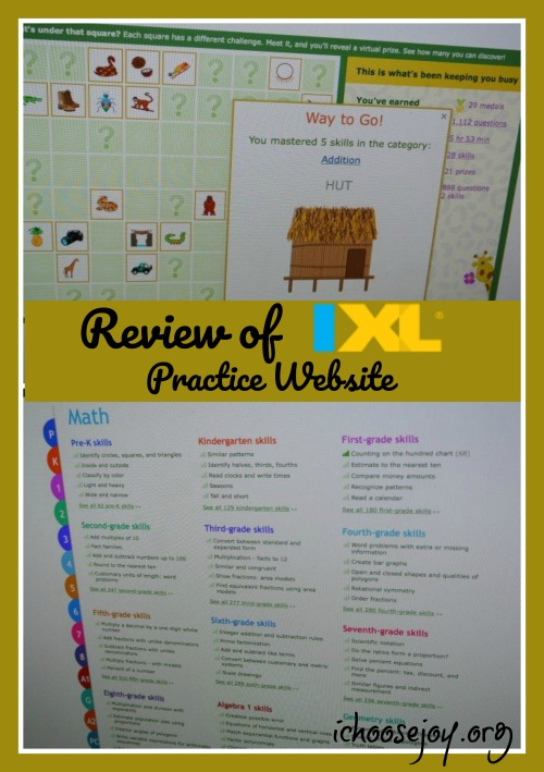IXL Math and Language Arts Review
