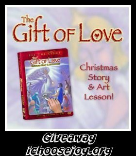 Christmas Art Lesson DVD Giveaway