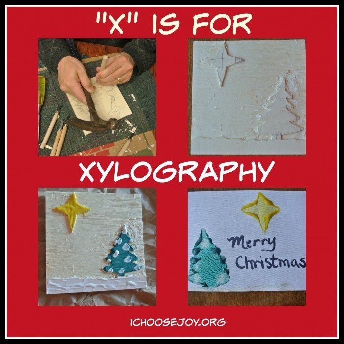 X is for Xylography