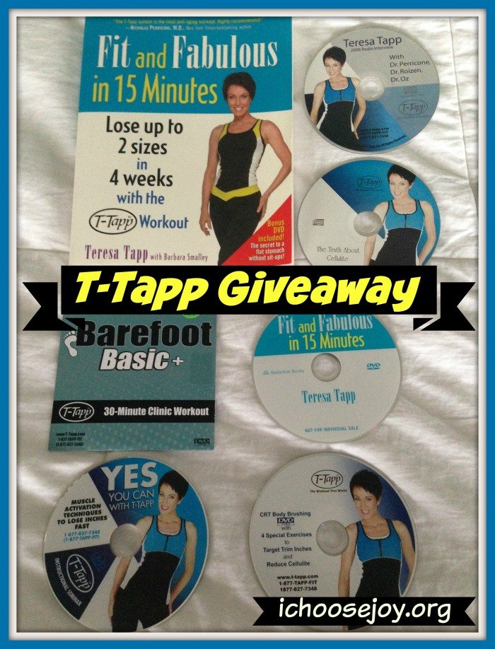 T-Tapp Prize Pack (book and DVDs)