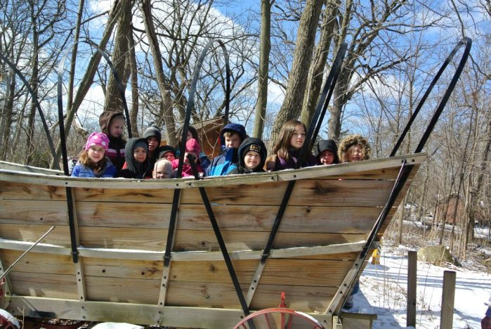 "Field Trip to ""The Grove Log Cabin"" in Glenview, IL"