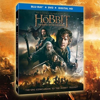 Giveaway: The Hobbit: Battle of Five Armies Blu-Ray DVD