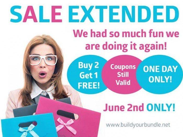 Build Your Bundle Sale Extended