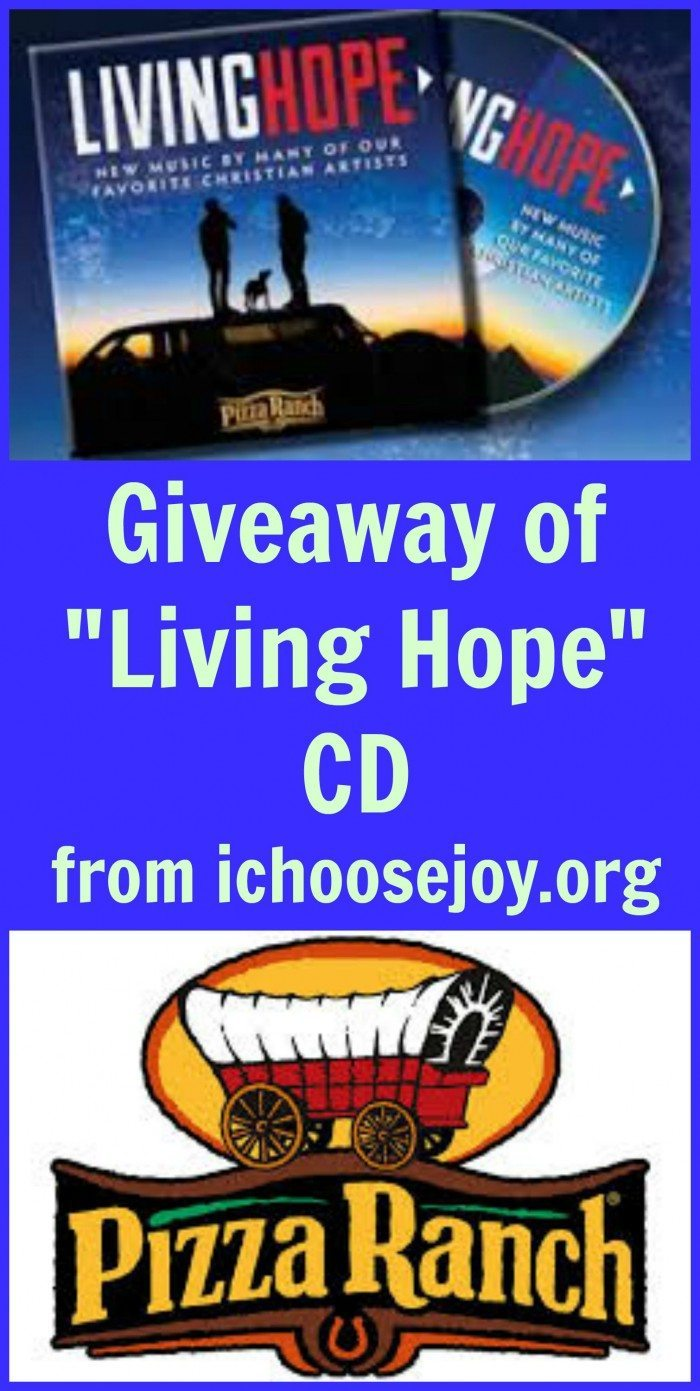 Giveaway of Living Hope CD