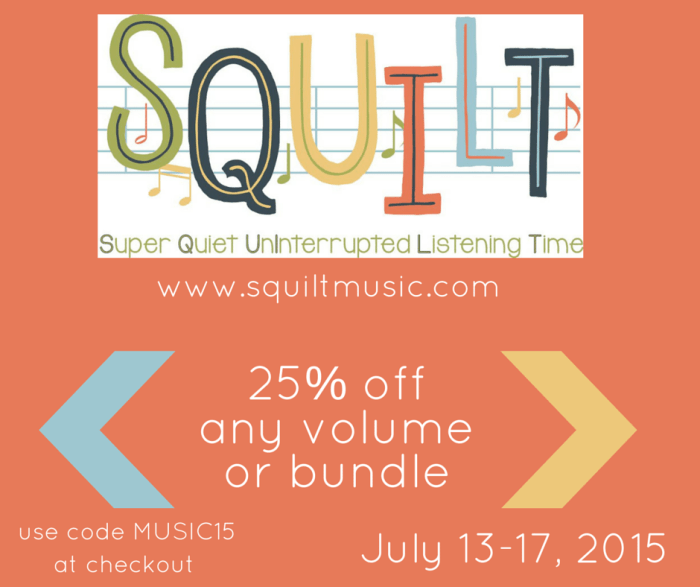 SQUILT July 2015 sale