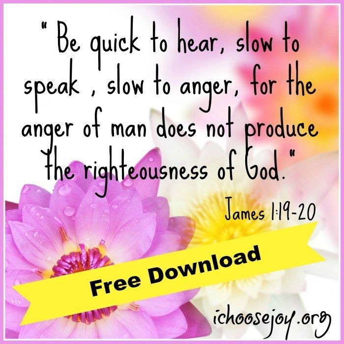 Homeschool Verse James-1-19-20 Free Download