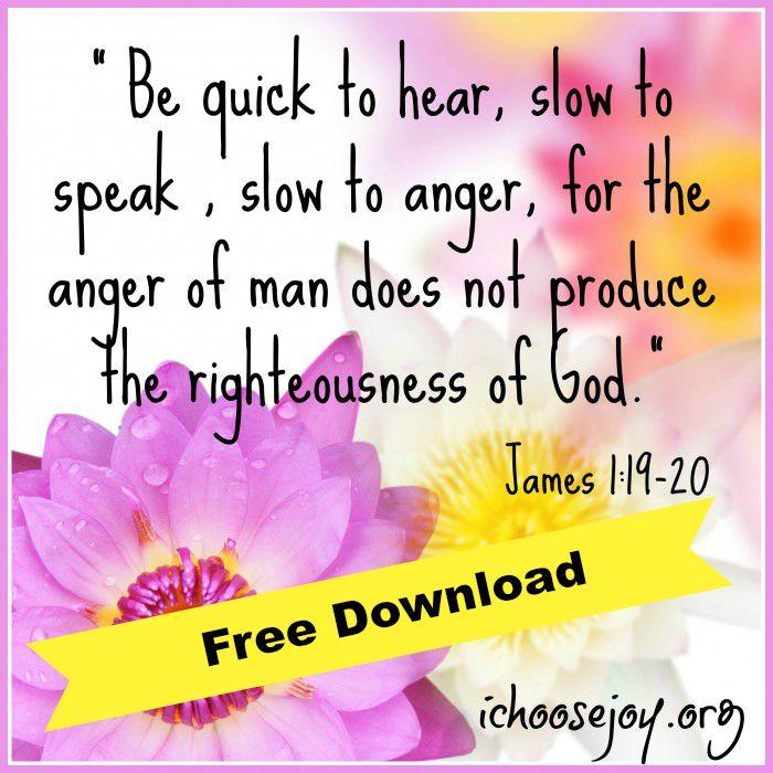 Homeschool Verse James-1-19-20 Free Download