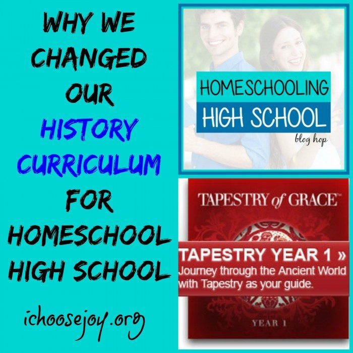 Why We Changed our History Curriculum for Homeschool High School