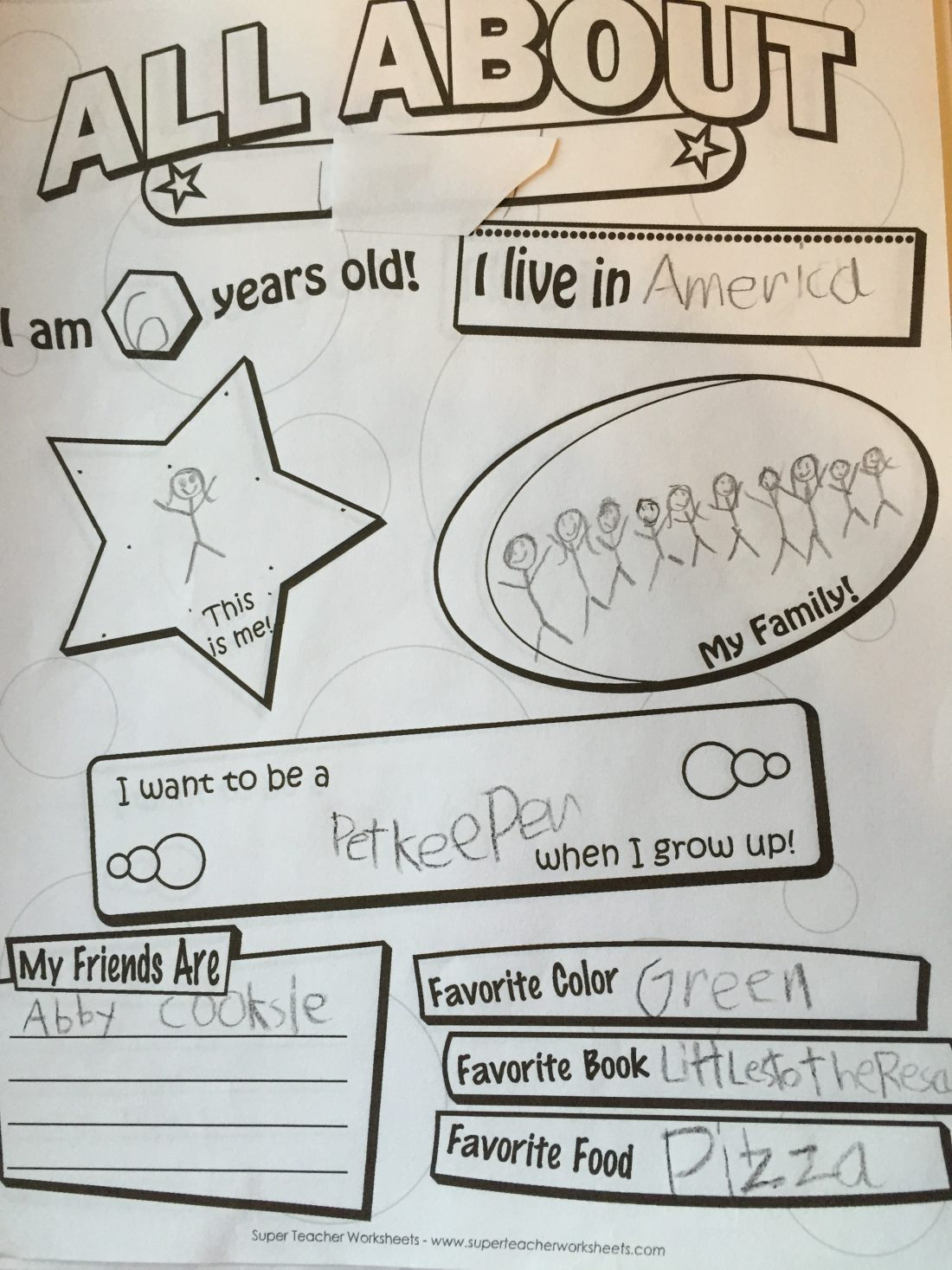 Super Teacher Worksheet Seasons