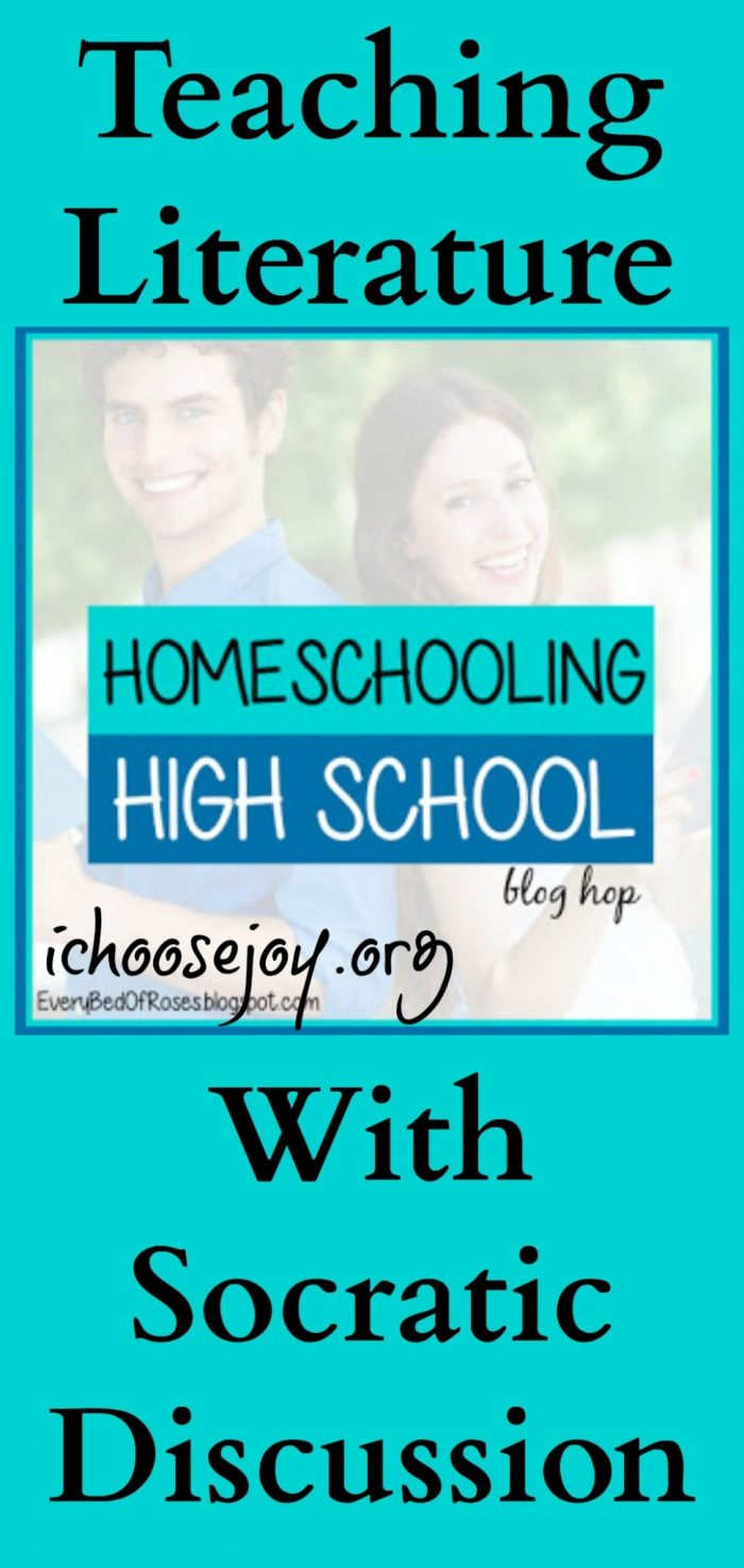Teaching Homeschool High School Literature With Socratic Discussion
