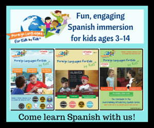 Review: Foreign Languages for Kids By Kids~ Spanish