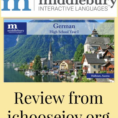 Curriculum Review: Middlebury German for High School