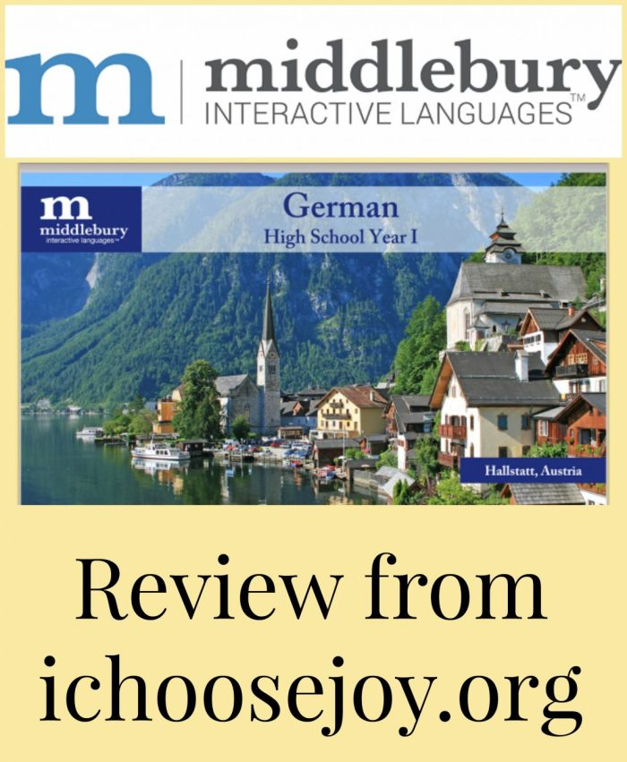 Middlebury Interactive Languages High School German Review